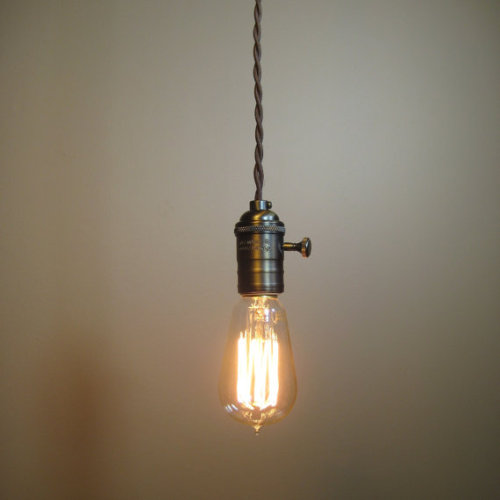 (via Farmhouse Style Rustic Bare Bulb])