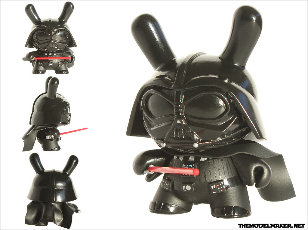 A Little Bit On The Custom Toy Side: Darth Vader Dunny by Michal Miszta aka The Modelmaker.