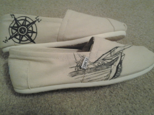 I decorated my Toms