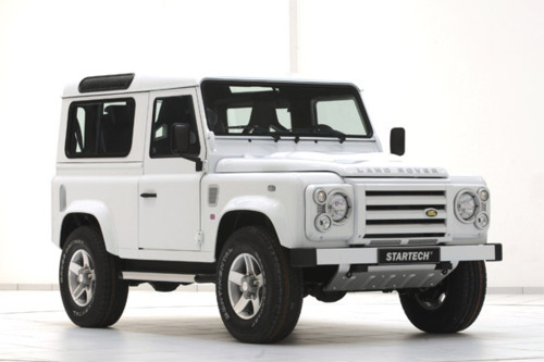 georgianadesign:  The Land Rover Defender 90 Yachting Edition. Startech.