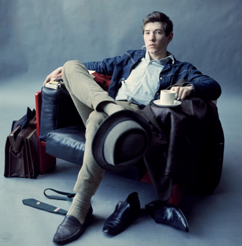 apoetbynight:  newleafrobin:  cinemastatic:  Sir Ian McKellen in his younger years  I'm amazed at how timeless this picture is. It had to have been taken at least, what, 50 years ago? But look, the chair, his hair, all the clothes — everything looks as if the photo could have been taken yesterday. If you didn't realize this man is now a few months shy of 73 years old, you would never guess it from this picture.  Forever one of my favorite actors of all time  This is Gandalf and Magneto. Your argument is invalid.
