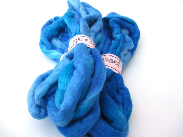 msgusset | Clear Blue Oceans Optim Combed Top/Roving Merino