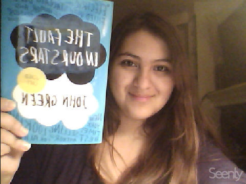 iminlovewithmozart submitted: My first John Green book and I am IN LOVE! Thanks John! And thanks to my bestie Kim for convincing me to read it even though I'm thoroughly stuck in a JK Rowling phase (again) and for letting me borrow her signed copy. : )