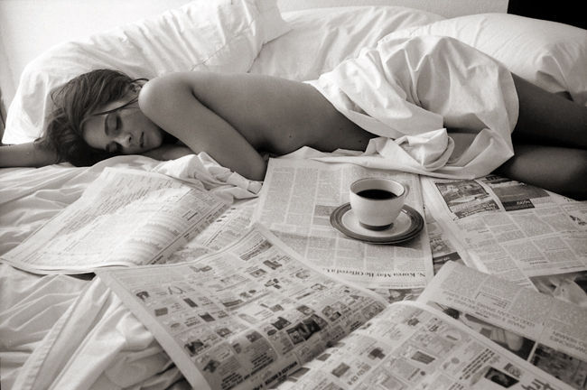 Morning Coffee  Sunday morning in bed Coffee Papers Naked skin Slow relaxed sex Sometimes love can be so simple I wonder why we seek to complicate it… ~ Isabella ~