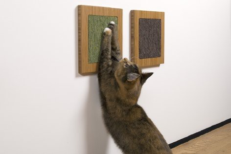 veganlove:  DIY cat scratching boards
