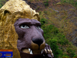 The Lion's Head Kennon Road, Baguio City Philippines