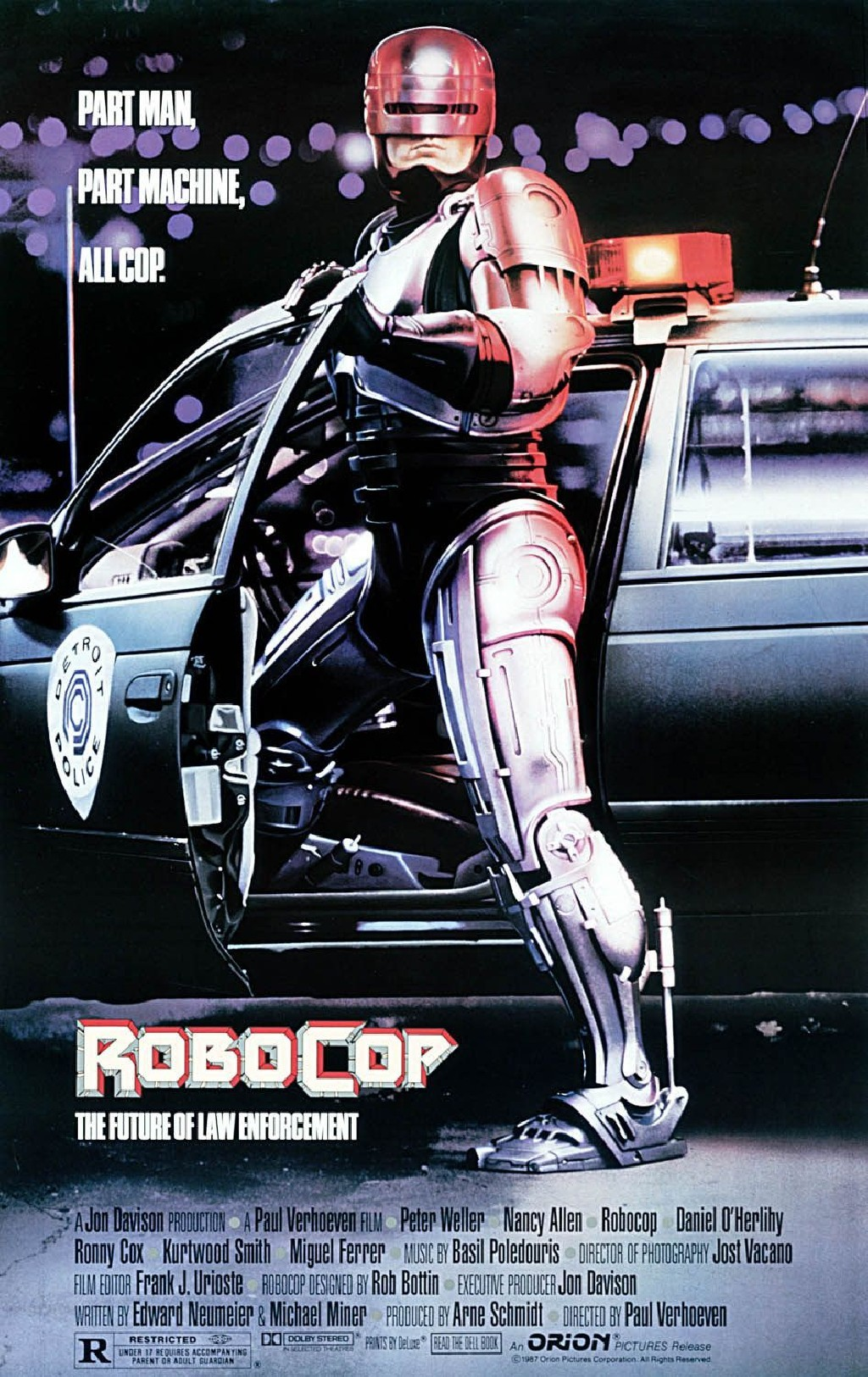 Part Man, Part Machine, All Cop. Robocop.  The Future Of Law Enforcement.