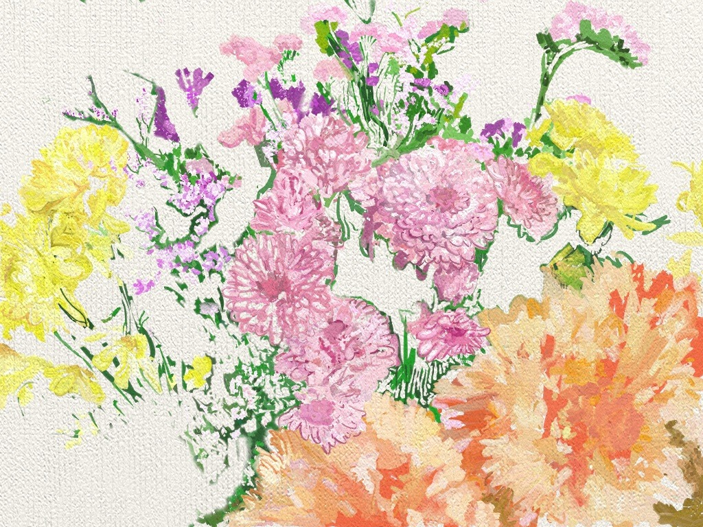 First try with Artrage