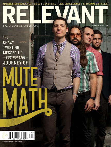 Mutemath Cover on Flickr.Cover of RELEVANT magazine Nov/Dec 2011