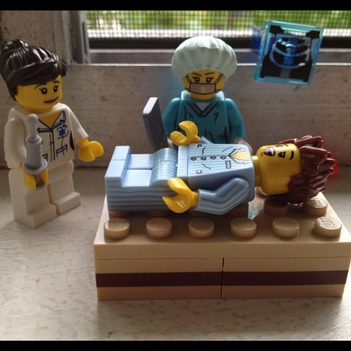 They made this look so much funnier in Scrubs #minifigs #lego  (Taken with instagram)