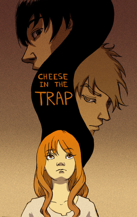Fanart for Cheese in the Trap. (askdglhk I inked it in with a dying pen and scanned it at 200 dpi… sorry for the crappy lines.) If you look around the English scanlations up to chapter 24 are still around before Naver demanded for them to stop. I was really excited when Oddscans picked it up and now we don't have manually input the code to read it legally. This is one of my favorite Korean webtoons of all time. Hands down. It was hard to initially get into it because I thought it was a dumb shoujo and assumed Sul was overly paranoid and self conscious because she liked Jung. Which…JUST READ IT. I WANT TO FANGIRL OVER IT WITH SOMEONE.