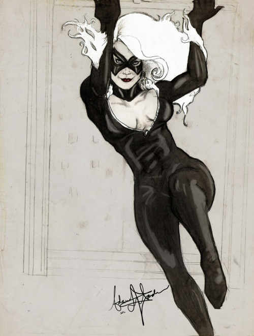 adamisbored:From my Adam Hughes obsession days.