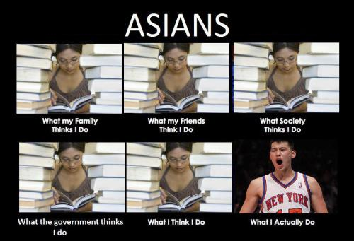 Jeremy Lin changing Asian stereotypes.