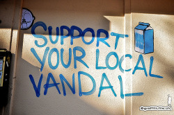 rossiprojects:  support your local vandal  Yes!