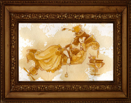 Tea girls by Brian Kesinger - 1.