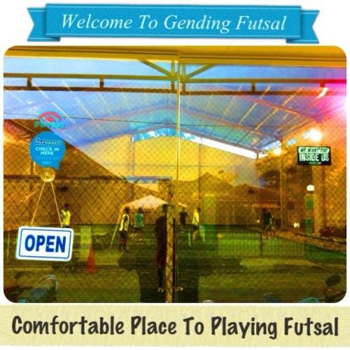 #welcome to #gendingfutsal #comfortable #place to #playing #futsal #venue #field #sport #sportvenue #iphone #iphone4 #iphonesia #instagood #instago #instagram #iphoneography #statigram #snapfans #justnow #bestoftheday #photooftheday #foursquare @foursquare #macbeth #macbethfootwear @macbethfootwear #sticker #wewantyouinsideus #we #want #you #inside #us  (Taken with Instagram at Gending Futsal)