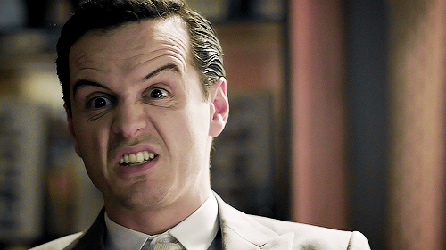 sherlocked-inside-the-tardis:  eldritch-abomination:  cumberbitchsandwich:  cheekbonesandupturnedcollar:  mycroftings:  So how are you going to do it?Burn me?  Jim's eyebrows and the bags under his eyes form the shape of a bowtie.  ^THIS. Made me laugh my ass off. ^ oh my god