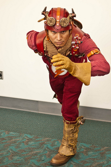 bloodberryandblazers:  Steampunk Flash