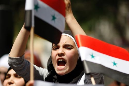 "What do Syrian activists think the United States should do about Syria? ""What's undeniable is that Syrian people are in desperate need of humanitarian aid as well as political and economic assistance. Assad has proven he will not relent, with the Interior Ministry vowing that it will continue to implement the ""security solution"" until every expression of resistance is eliminated. With Russia and China essentially giving the green light for Assad to continue his massacre, only an international coalition led by the United States can stop the regime's violence. The hope for a democratic future in Syria currently hangs in the balance.""  -Radwan Ziadeh, ""A Plea For U.S. Intervention From a Syrian Activist"" This is article is part of A TNR Symposium on Syria. Visit TNR.com for more coverage. Photo courtesy of ABC News Australia"