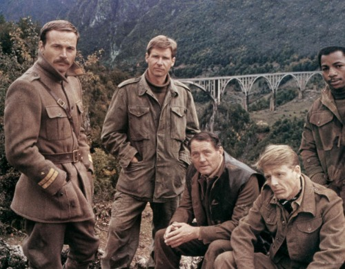 Franco Nero, Harrison Ford, Robert Shaw, Edward Fox, Carl Weathers Force 10 from Navarone (1978)