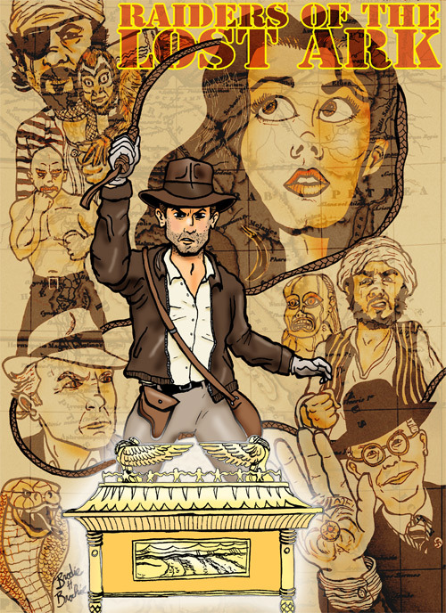 Indiana Jones: Raiders of the Lost Ark When I was a little kid, I was afraid to see Raiders of the Lost Ark, because I heard about the face-melting.  So it wasn't until years later, and after seeing Temple of Doom that I finally saw the original.