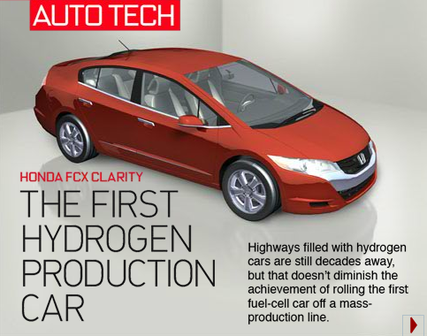 Have you ever wondered how fuel-cell technology works? Here's how it works in Honda's FCX Clarity: http://ow.ly/90mnd