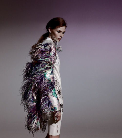 tmagazine:  Spring Trends | Lunatic Fringe: This season, expect to be flapping in the wind. But in a good way.
