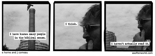 A Softer World: 773 (I did play the NES game at that Christian store in the mall)