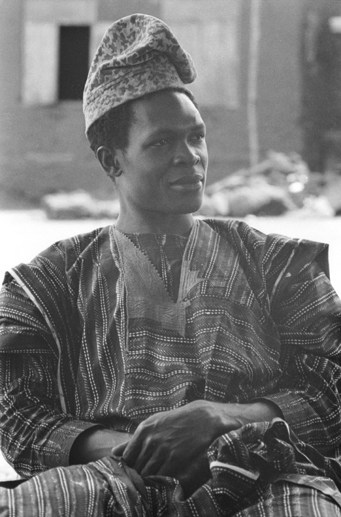Stylish Yoruba gentleman, Meko, Nigeria circa 1970. Image Courtesy of the Smithsonian Archive.