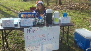 goodspotting:  ‎#GoodSpotting raising money for Operation Homefront of North Carolina with yummy home baked goodness. Photo by: Adriane Martin Horne.  Everyone go check out and follow the Goodspotting Tumblr to see great examples of people working to make the world a bit of a better place.