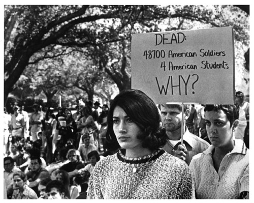 "What can a 1960s memoir teach us about today's social movements? ""There is rather too much boilerplate history in Bill Zimmerman's account, but for all its occasional self-dramatization it reminds us, in a timely way, of the immensity of the radical movement that swept America in the '60s, of the manifold ways in which it engaged a host of activists and eventually became sublimated into an enduring feature of American culture and politics. At a time when journalists persist in judging the Occupy movement by its easily visible signs and accomplishments of the past hundred days, Troublemaker is a useful reminder of how much of a social movement takes place in a profusion of lives, under the surface, among the unfamous."" -Todd Gitlin's Review of Troublemaker: A Memoir from the Front Lines of the Sixties by Bill Zimmerman  Photo courtesy of Kent State University"
