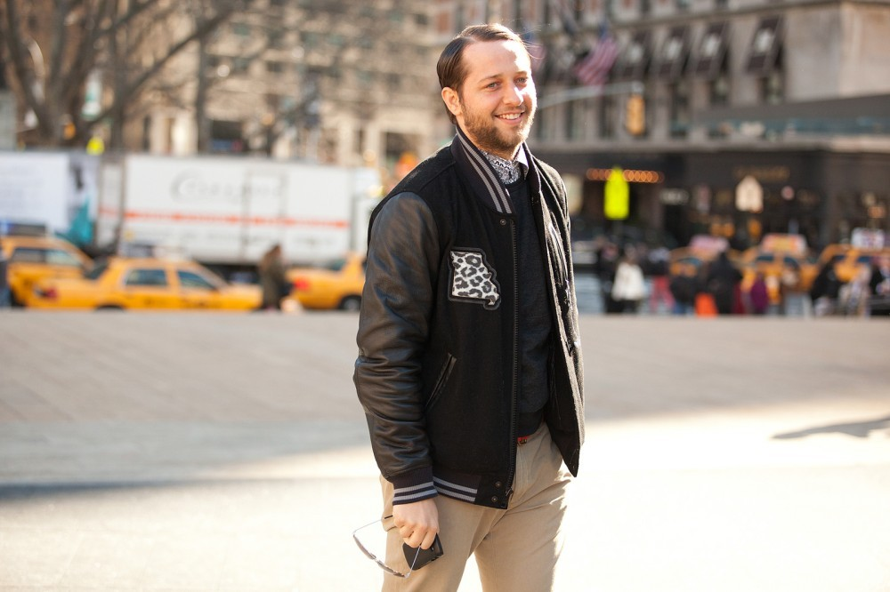 @DerekBlasberg repping the #Midwest at NYFW [via @Refinery29]