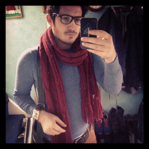 Yeah scarfy weather