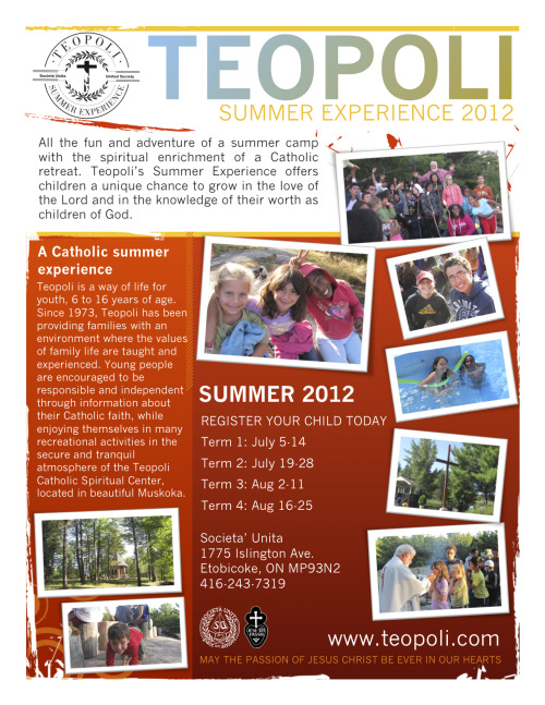 Teopoli Summer Experience Register your child today!