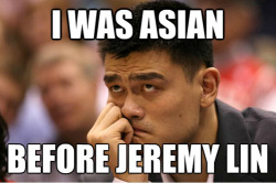 Ahhh, yes. Jeremy Lin… Maybe replacing Nate Robinson in my heart… :]