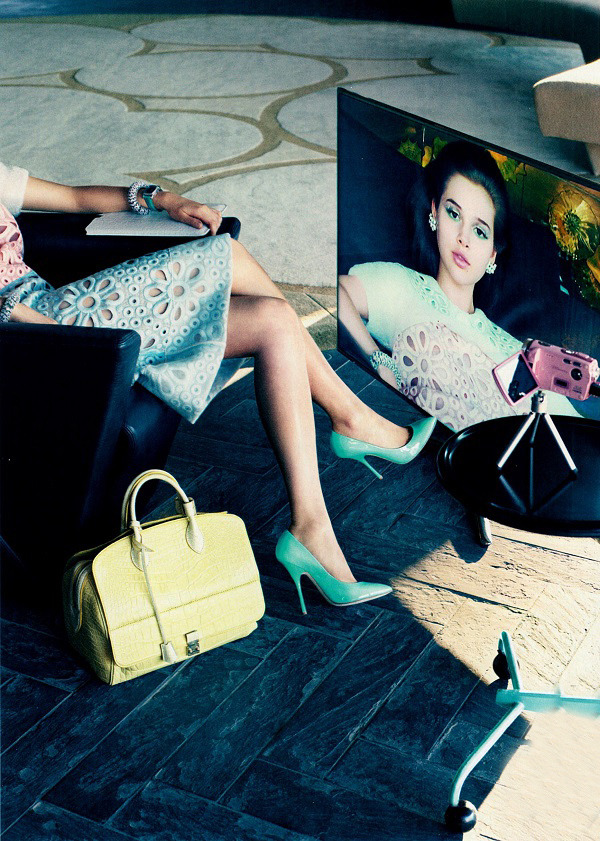 Raymond Meier / Vogue US March 2012.