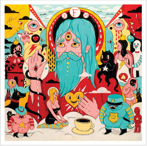 Album art for Fear Fun, Subpop debut LP from Father John Misty (aka J. Tillman).