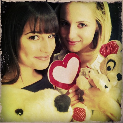 A little love note to Faberry Nation: So then, what does it all mean when the gay slash loving from the depths  of our hearts makes a splash out there in the outside wider world? I  don't know, really. More exposure to a fanbase that previously could  only be seen stalking the virtual hallways of Livejournal and Tumblr.  Perhaps a little more acceptance of those who love a different kind of  love. But probably most of all validation for the fans out there who  spend countless hours watching, reading, creating, commiserating and  celebrating the couples that everyone might not see at first glance.  Ship whoever you want to ship, and ship them proudly.  Because, clearly,  you are not alone. And if you can dream it, there's a fanbase to make  it reality.