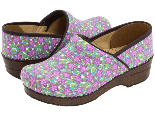 These adorbs Dansko's are not only vegan but are on sale at Zappos.com right now for $84 which is still a lot, but cheaper than normal! I'm wearing plaid Danskos right now, you can get flowers and we'll clash amazingly!  I honestly don't think I could ever pull these off but you'd be the kind of girl I'd get a secret crush on if you managed it. Send us a photo!
