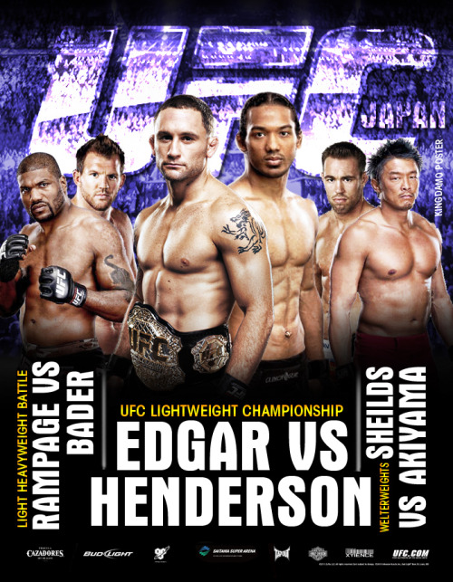 UFC 144 - Japan! Edgar vs. Henderson