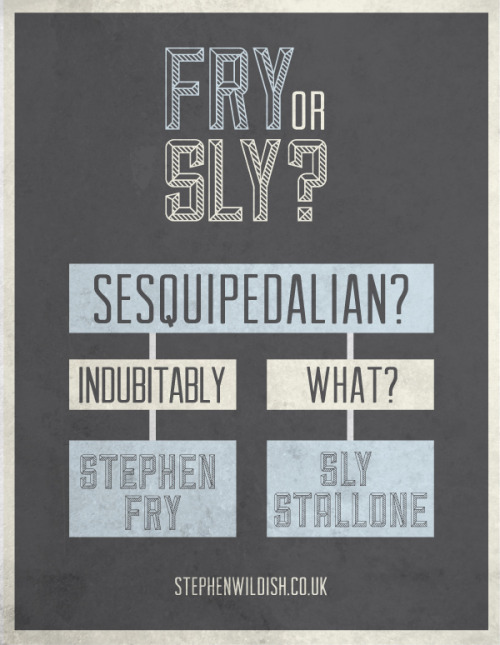 stephenwildish:  Friday Project - Fry or Sly?