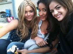 pinkroadnumber5:  Sasha Pieterse, Shay Mitchell & Lucy Hale they're soooo beautiful