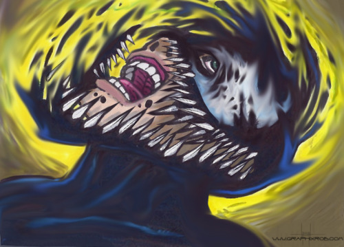 Venom symbiote by GraphixRob Website || Deviantart || Tumblr