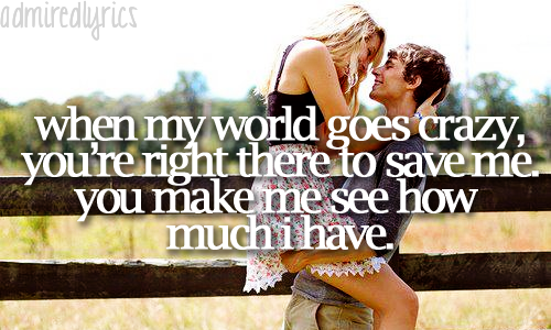 admiredlyrics:  My Best Friend - Tim McGraw
