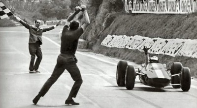 hakkalocken:  Jim Clark, French Grand Prix 1965.