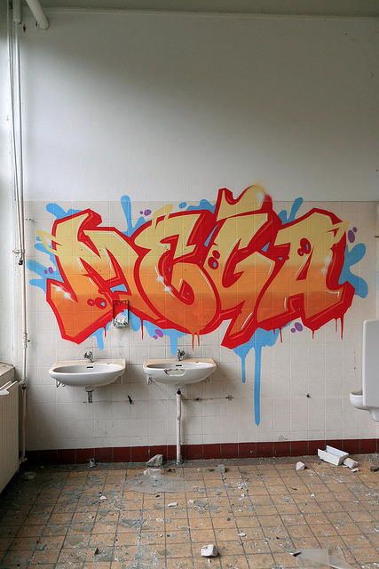 fcknn:  Indoor Graffiti