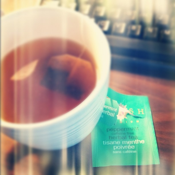 itsamyduh:  This tea is a life changer. [old woman at heart]     Thanks for the love! It must be because our peppermint comes from local farmers here in the Pacific Northwest! (Learn more.)
