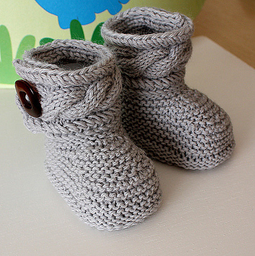 Knitted Uggs Pattern