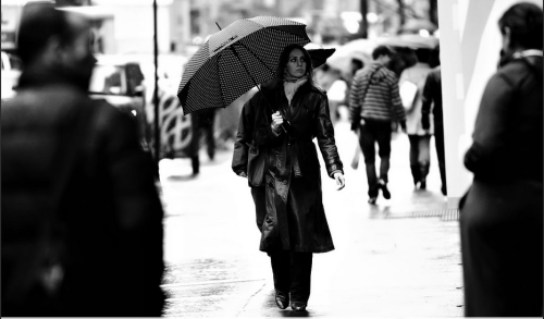 "Today's Fav. URBAN WOMAN Photo. ""Freeze- NYC SoHo -01 "" Thank you #GilLavi, New York."
