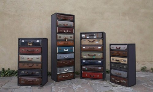 James Plumb Suitcase Chests